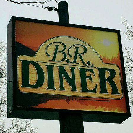 Redgranite, Висконсин: This sign welcomes all to come and visit the diner.