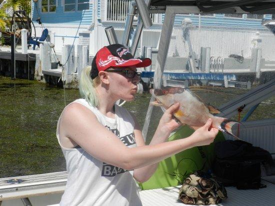 Long Key (Cayo Víbora), FL: Hogfish....really good to eat.