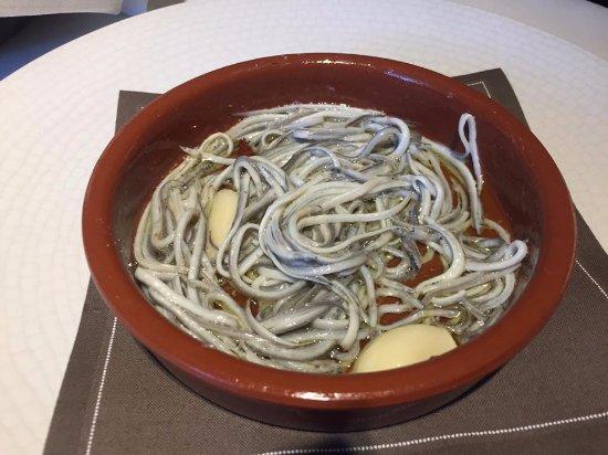 Calldetenes, Spanje: Angulas (fuera de menú)