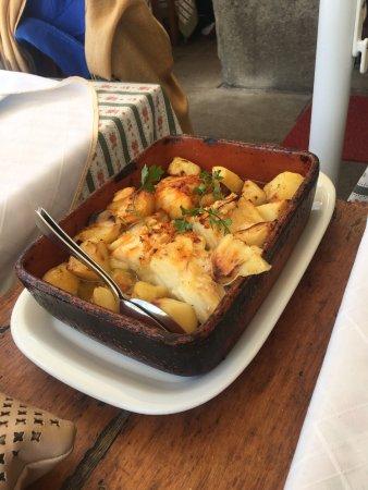 Chez Lapin: Bacalhau Excelente