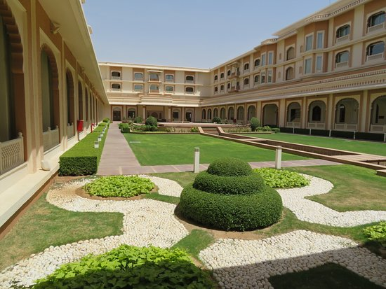 Indana Palace : All the rooms look into this courtyard