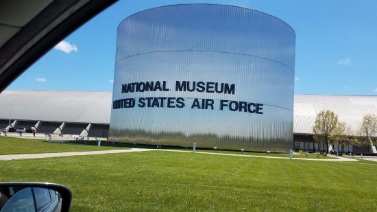 National Museum of the United States Air Force : Pulling into the museum