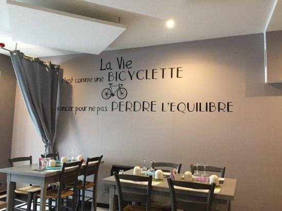 Riom, Frankrike: La Bicyclette