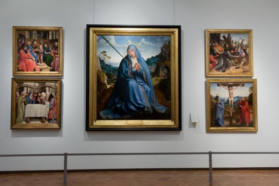 Museu Nacional de Arte Antiga: The painting of the Queen Leonor of Portugal
