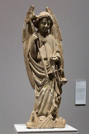 Museu Nacional de Arte Antiga: The sculpture of Arcanjo São Miguel ( Archangel Michael)