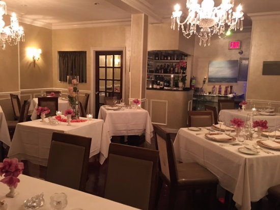 Piermont, Estado de Nueva York: Interior dining room