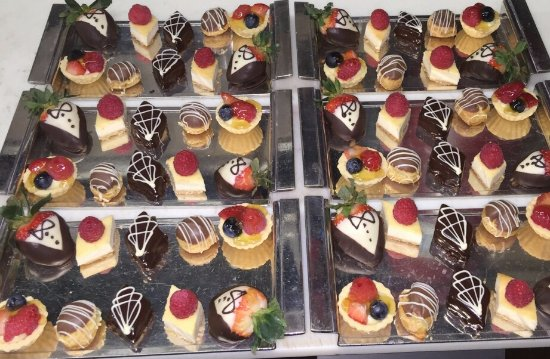 Piermont, Estado de Nueva York: Petit Fours