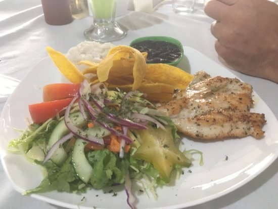 Villarreal, Costa Rica: The Tuna was delicious