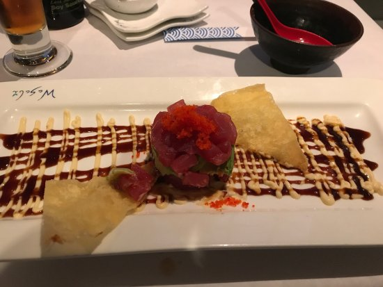 Copley, OH: Tuna Tartare...excellent and fresh!