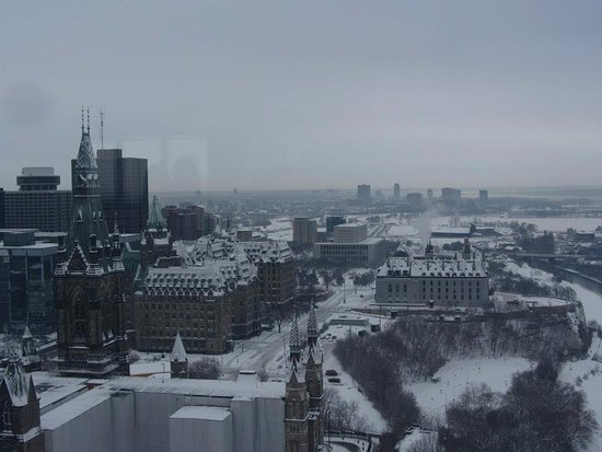 Ottawa, Canadá: tower view