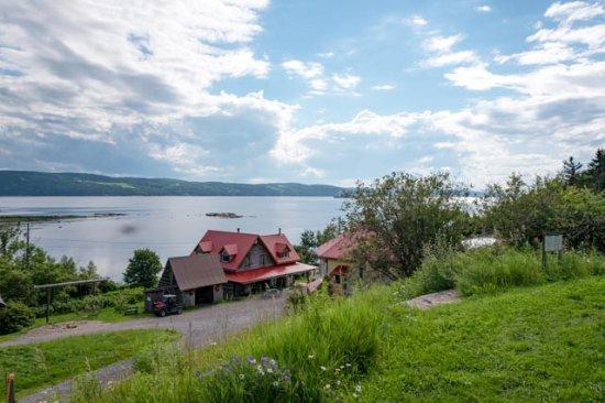"Saint-Fulgence, Canada: ""La petite ferme"""