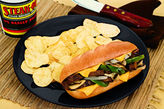 Warner Robins, GA: Our sirloin cheesesteak sandwich is a customer favorite.