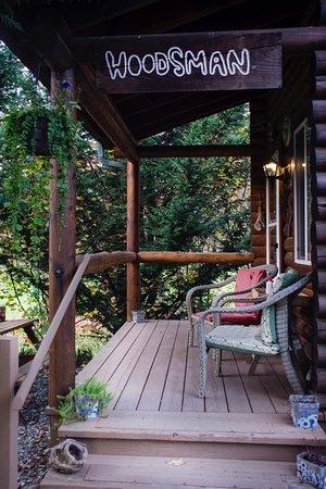Concrete, WA: Woodsman cabin