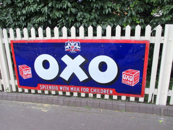 Uckfield, UK: So many enamel signs