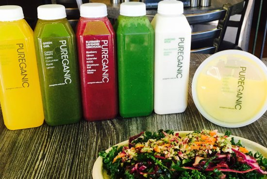 Rye, Estado de Nueva York: One of our amazing customized cleanses. Healthy, filling and yummy.
