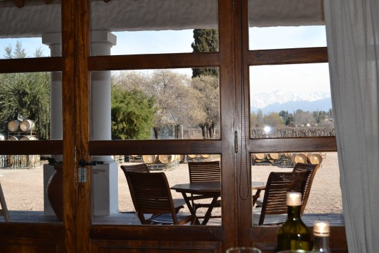 Lujan de Cuyo, Argentina: Photo from dining room