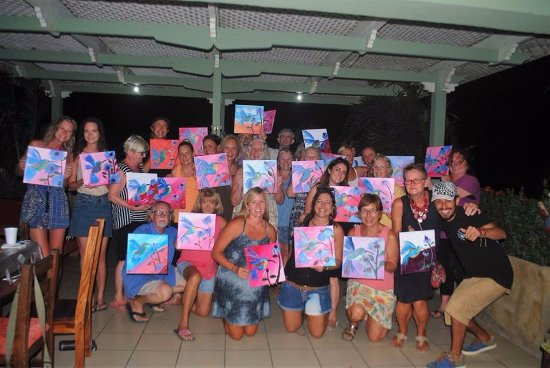 Paint Night Tamarindo