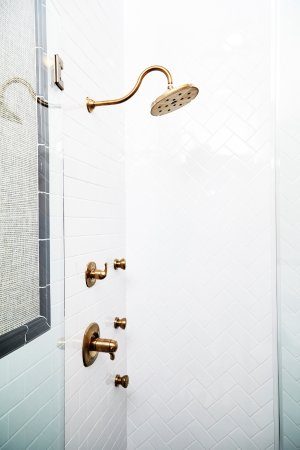 High Point, NC: The Thom Filicia Suite walk-in shower