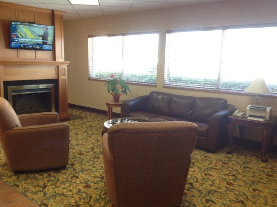 Swift Current, Kanada: The other part of the sitting area in the lobby