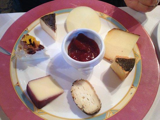 Gasthof zum schlern: Tagliere di formaggi