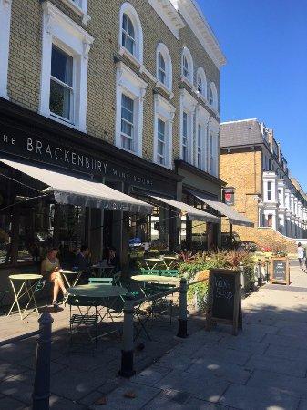 Tripadvisor London Restaurants Brackenbury Wine Rooms
