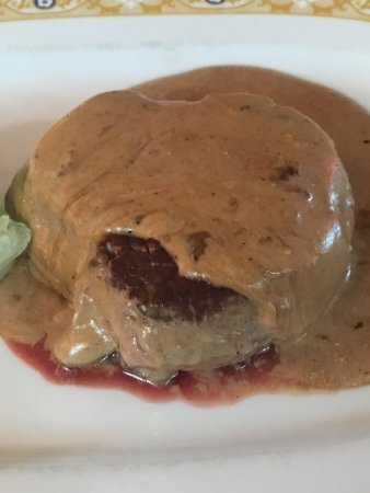 Mamma Mia Pizzeria & Ristorante Italiano: Filletsteak with pepper sauce
