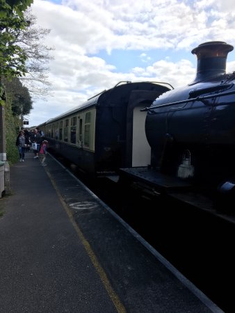 Paignton, UK: These are a few pictures of the train and one of the carriages