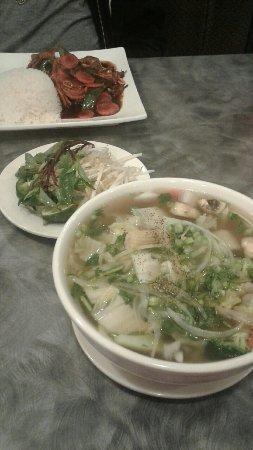 วอคิซอ, วิสคอนซิน: Vegetable and Tofu Pho