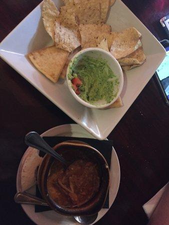 Evergreen, Колорадо: Green chili and spin artichoke dip
