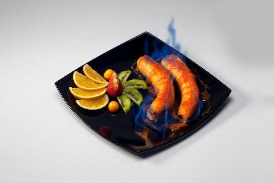 Creperie Patrick: Banana Flambee