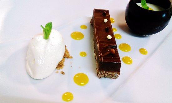 Hôtel de la Muse et du Rozier : Autour du chocolat, de la fève Tonka & de la Mangue !! Yummy