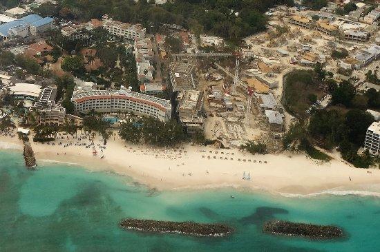 St. Lawrence Gap, Barbados: Construction on Royal Barbados