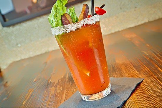 The Grill on Main: Bacon Mary