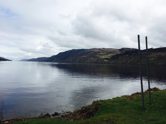 Fort Augustus, UK: Loch Ness from The Boathouse Restaurant