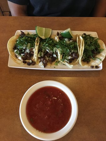 Sedalia, MO: Steak Street tacos and sancho burrito