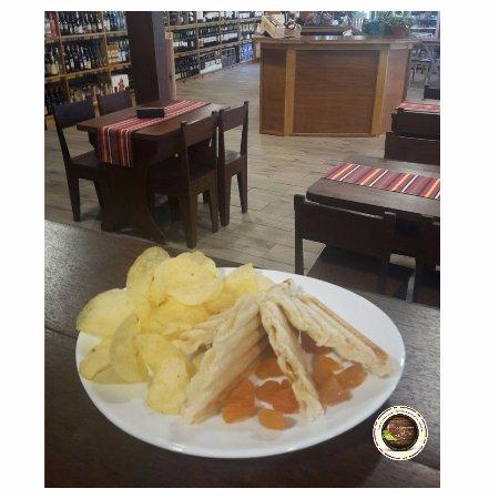 Sao Vicente, Portugal: Tosta de queijo!:)
