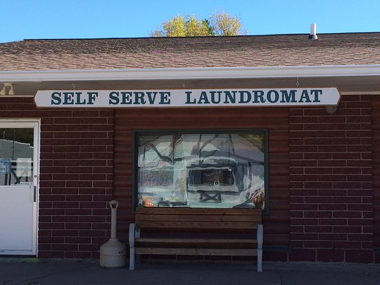 Birchwood, WI: Our Laundromat is connected to the Cafe for your convenience.