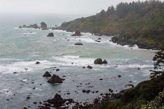 Trinidad, Калифорния: ocean view