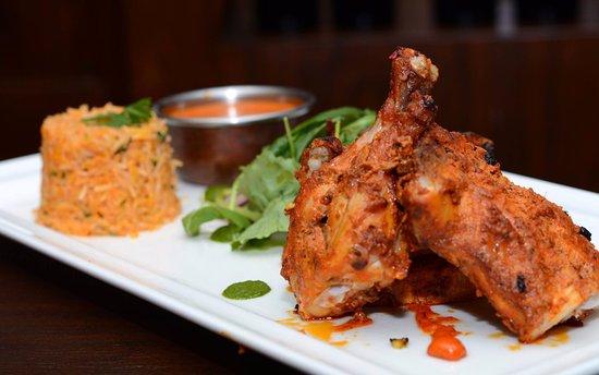 Blessington, Irlandia: Tandoori Chicken w/ basmati rice