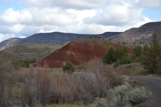 John Day Fossil Beds National Monument: Painted Hill