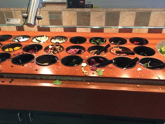 Returned April 27 At 1 30 Found A Mess At The Salad Bar