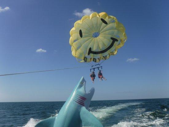 Bradenton Beach, Флорида: YOLO PARASAILING