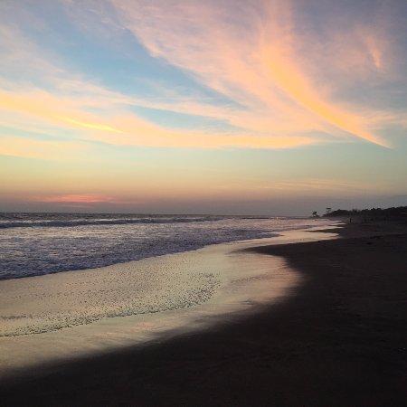 El Viejo, Nicaragua: Beach view