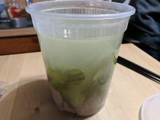 Dublin, OH: Bitter melon soup with sliced pork