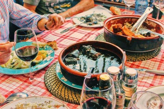 Ponteareas, สเปน: que buena la lamprea
