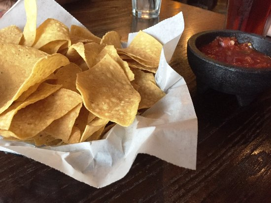 Medina, OH: just chips and salsa but SO good