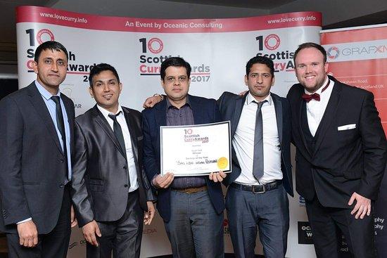 ลิฟวิงสตัน, UK: Scotish curry awards 2017  Best customer service of the year.