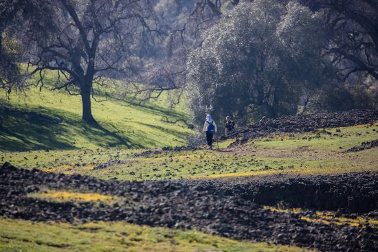 Oroville, CA: The beginning hiking path