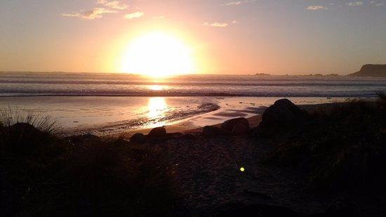 Westport, Nueva Zelanda: Sunset
