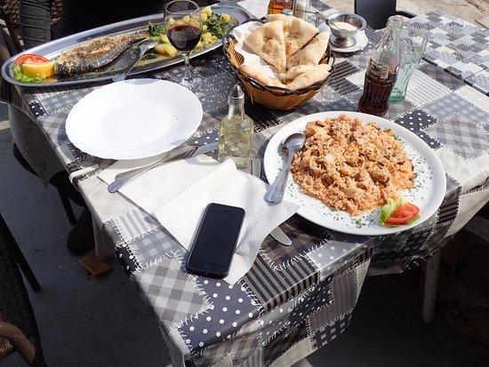 Karlobag, Croacia: Our meals